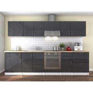 Meuble cuisine gris laque - Comparer 57 offres