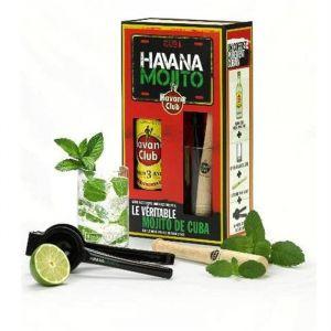 Havana Club Coffret Mojito - Havana Club Coffret Mojito - rhum Cubain - coffret spécial préparation du mojito