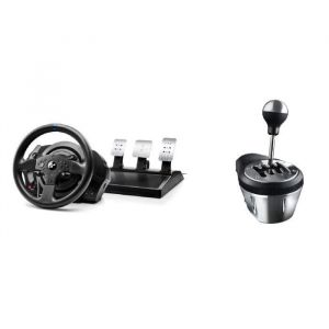 Thrustmaster Volant T300RS GT Edition - PS3 / PS4 / PC + Thrustmaster Levier de vitesse TH8A  SHIFTER ADD-ON - PC / PS4 / Xbox One