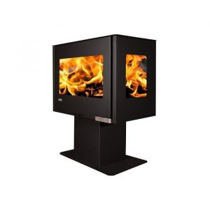 ARTWOOD PŒle A Bois Adam Stove Modele Vally 6Kw