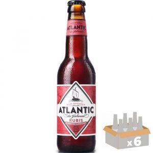Atlantic Des Gabariers Pineau des Charentes - Bière Rubis - 33 cl x 6