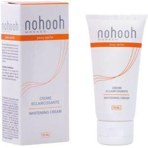 NOHOOH Crème éclaircissante - Peau sèche - 50 ml