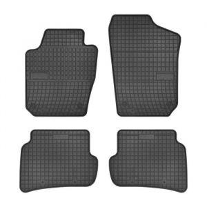 DBS - Tapis voiture / auto - Sur Mesure pour LEON (2012 - 2020) - 4 pièces - Antidérapant - Souple - 100% Caoutchouc