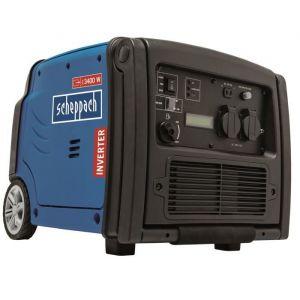 SCHEPPACH - Groupe électrogène Inverter 3400W 5,1CV avec système AVR, moteur à essence 4 temps + télécommande