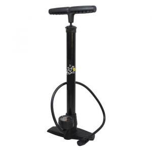 Pompe à pied en acier avec manomètre Tour de France