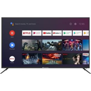 Conitnental Edison Smart Android TV 65' (163,8 cm)'4K UHD HDR Wi-fi Bluetooth Google Assistant Télécommande Vocale