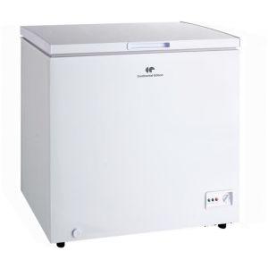 CONTINENTAL EDISON CECCF190APPW Congélateur coffre 190L, Classe A++, Froid statique, L 95 cm x H 84,5 cm  BLANC