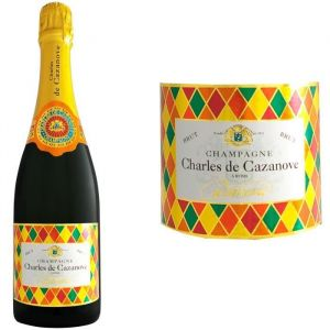 Champagne Charles de Cazanove Cazanova Arlequin Brut AOC