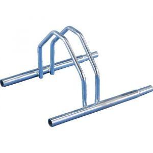 MOTTEZ Support 1 Vélo Bas Emboitable - Râtelier support pour 1 vélo, bas emboitable. Modèle classique.