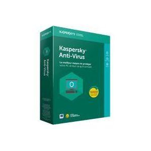 Kaspersky Anti-Virus 2017 - 3 Postes - 1 an