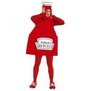 CESAR Déguisement de Ketchup Adulte