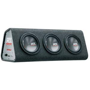 Caisson Actif Triplette Bass-reflex Mtx Rtp8x3