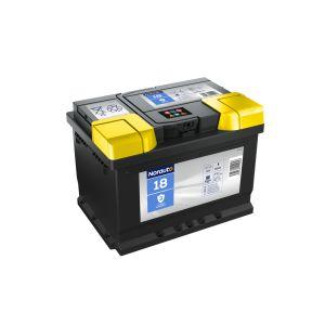 Batterie Norauto Bv18 60 Ah - 540 A