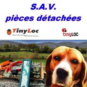 SAV Tinyloc - Pièces détachées pour radar de repérage Tinyloc R1 et R2.
