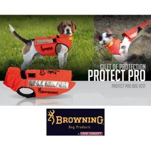 Gilet protection pour chiens en Kevlar Orange - PROTECT PRO - Cano-Concept