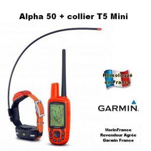 Garmin Alpha 50 avec collier T5 MINI