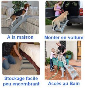 Escalier multi usage pour chien