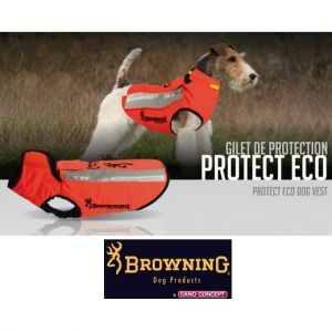 Gilet protection Kevlar chien ORANGE - PROTECT ONE - Cano-Concept