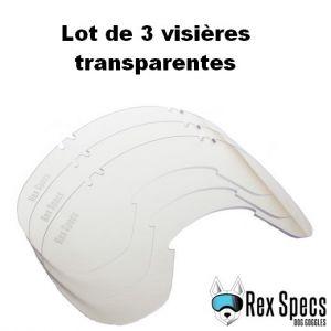 Lunette / masque de protection des yeux pour chien - LARGE (chien de 13 à 45 kg) - Rex Specs