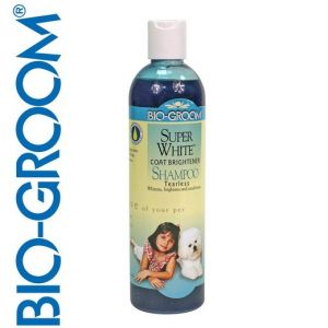 Super White - Shampooing pour pelages blancs - Bio Groom
