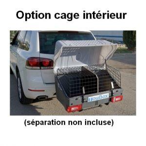 TowBox Dog - cage de transport pour chiens sur attelage.