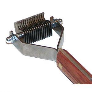 Peigne démêloir Coat King - Extra-fin 16 lames