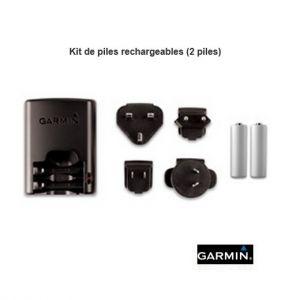 Kit 2 piles rechargeables pour collier GPS Garmin