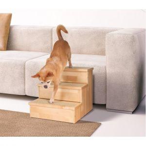 Escalier bois pour chien et chat