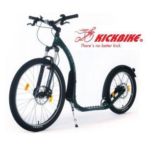 Patinette Kickbike Cross Max 20 Disc freinage hydraulique - Verte