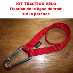 Kit traction vélo ou patinette Cross-canin/cani-vtt