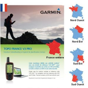 Carte de France Topographique Garmin