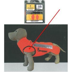 Kit de protection épaules chien de chasse, pour gilet Cano Concept Browning