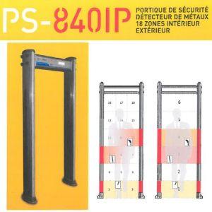 Portique de sécurité, détecteur de métaux 18 zones - PS-840IP