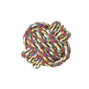Balle corde pour chien
