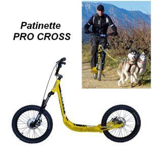 Patinette PRO CROSS WILD pour le sport canin