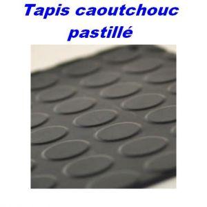 Tapis caoutchouc Pastillé