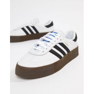 adidas Originals - Samba Rose - Baskets - Blanc et noir