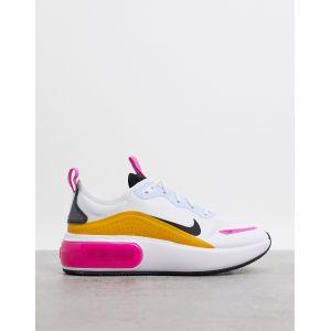 Nike - Air Max Dia - Baskets - Blanc rose orange et bleu