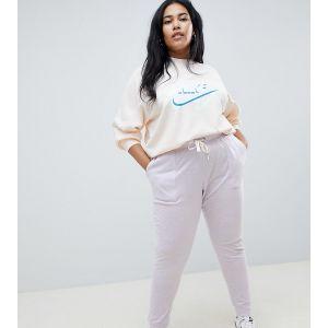 Nike Plus - Pantalon de survêtement style vintage - Lilas-Violet