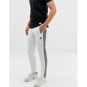 adidas Originals - Beckenbauer - Pantalon de jogging avec 3 bandes - Blanc