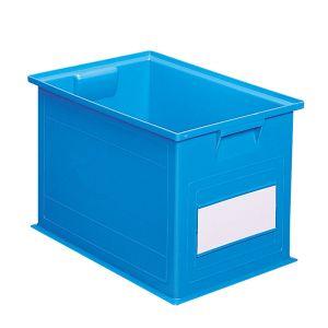 Bac plastique gerbable 40.5 litres bleu