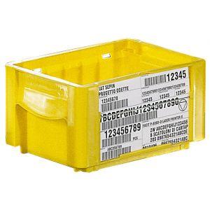 Bac ODETTE 8 litres en plastique pour industrie auto
