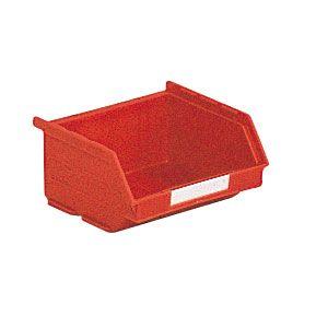 Bac plastique à bec 0.25 litre rouge