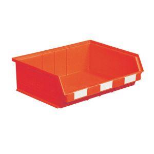 Bac à bec plastique 19 litres rouge