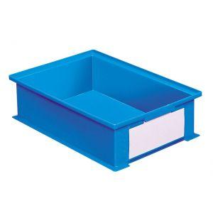 Bac gerbable plastique 16.2 litres coloris bleu