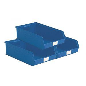 Lot de 14 bacs à bec grand volume 20 litres bleu