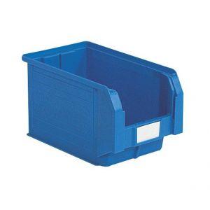 Bac plastique à bec 12.5 litres coloris bleu