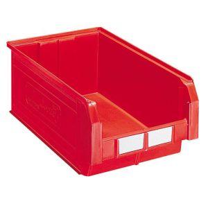 Bac plastique à bec 28 litres rouge