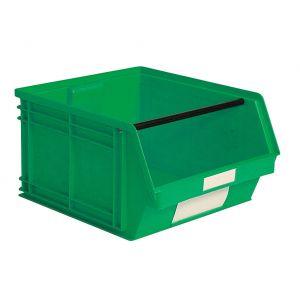 Bac plastique à bec 63 litres vert