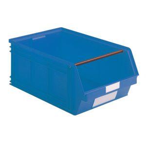 Bac plastique à bec 88 litres bleu